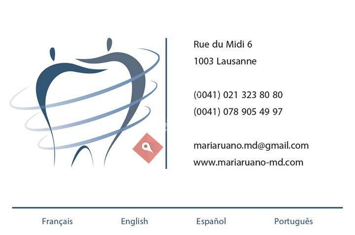 Dr Maria Ruano - Médecin Dentiste
