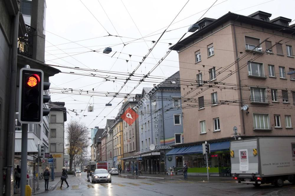 Kreuzung Langstrasse/Militärstrasse