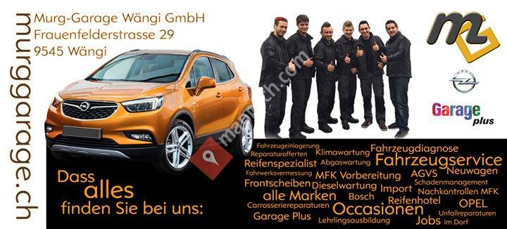 Murg-Garage Wängi GmbH