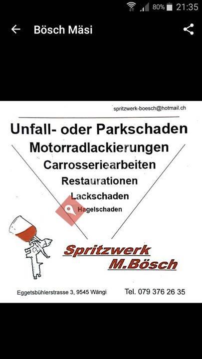 Spritzwerk M.Bösch